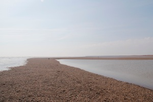 The islands are shingle banks visible at low tide