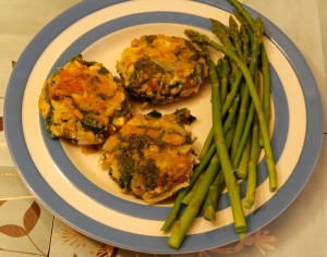chard fritters