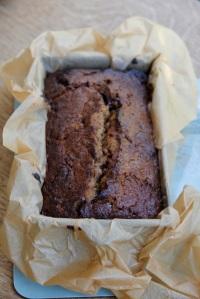 Chocolate banana cake2