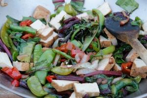 Mee Goreng vegetables