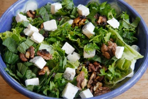 Salad without dressing