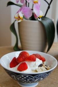 strawberry breakfast