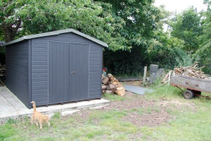 new shed2