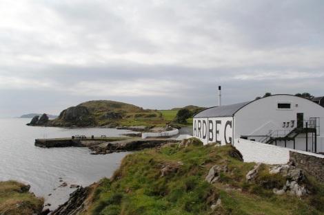 ardbeg distillery coastline