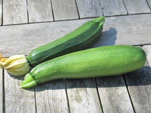 first courgettes