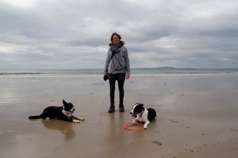 me and dogs on Laggan beach2