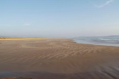 the vastness of Laggan Beach