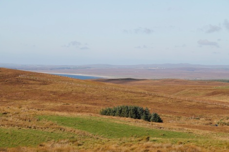 Laggan Bay in the distance