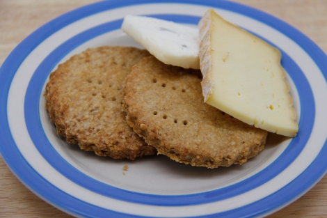 digestives and cheese