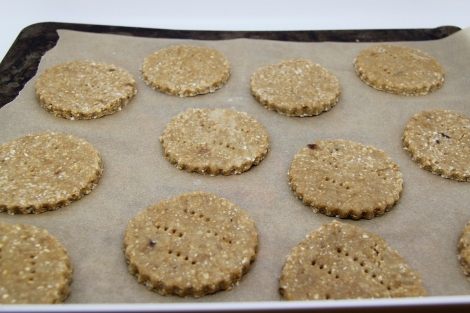 digestives waiting to be cooked