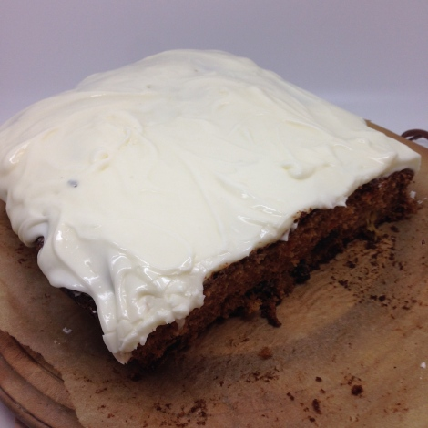carrotcake with icing