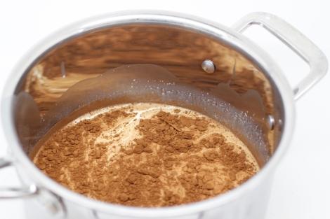 milk and cocoa