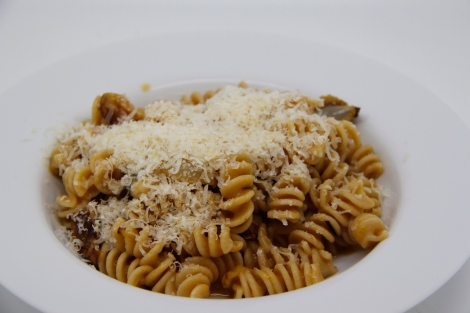 pasta with smoked parmesan