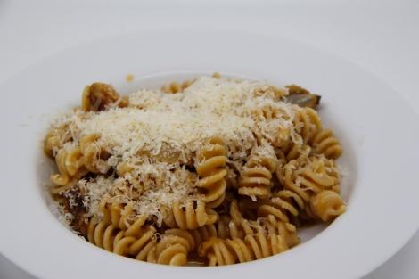 pasta with smoked parmesan