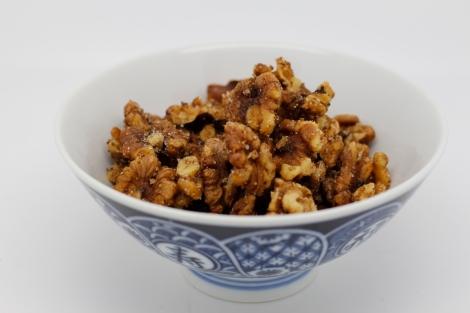 smoked walnuts