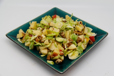 Brussel and apple salad