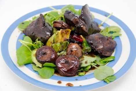 Liver salad