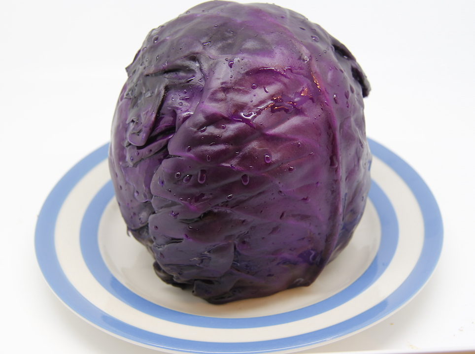 how to cook red and white cabbage