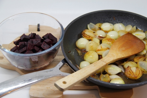 beetroot and onions