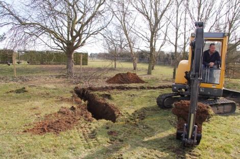 toilet block foundations