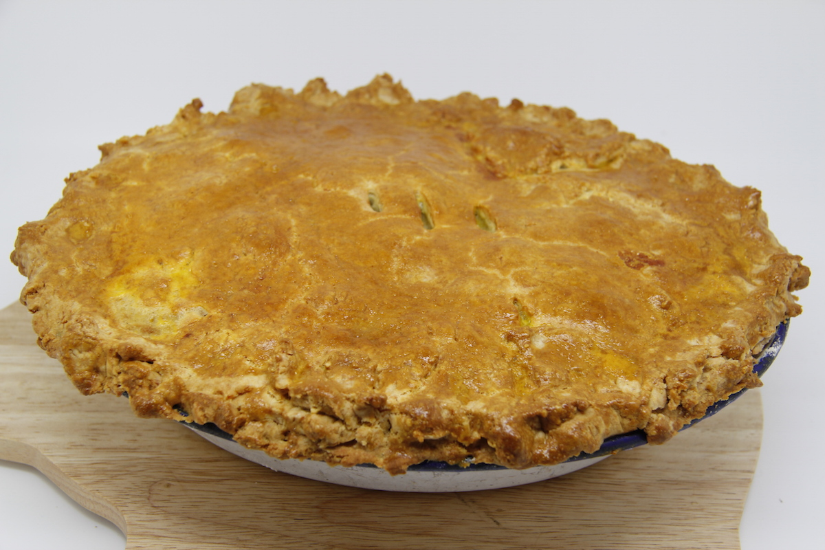 From Chicken to Chicken and Leek Pie | smallholding dreams