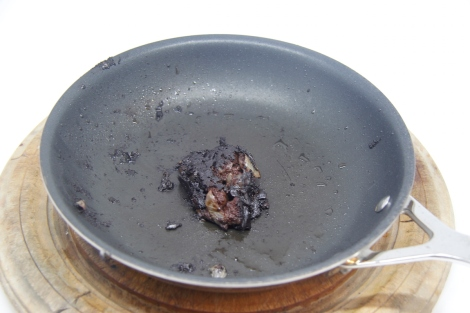 testing seasoning in the black pudding