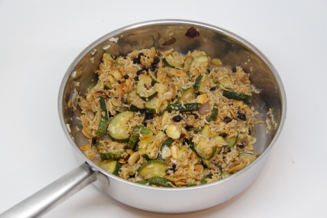Courgette pilav
