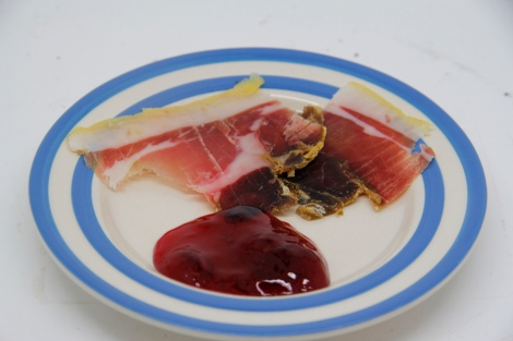 jelly and ham