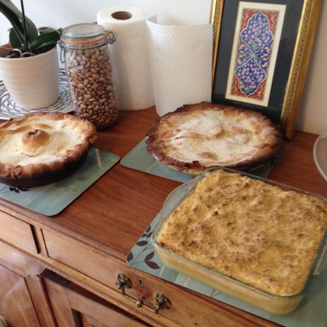 pies and crumble