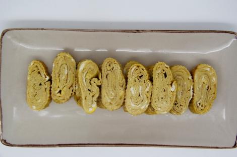 finished omlette