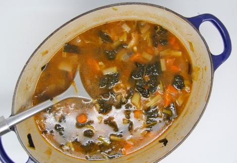 pan of soup