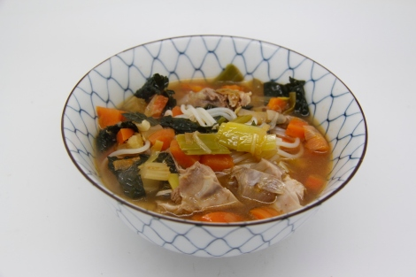 soup in a bowl