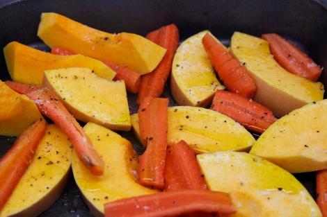 Squash and Carrots