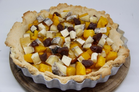 tart with filling