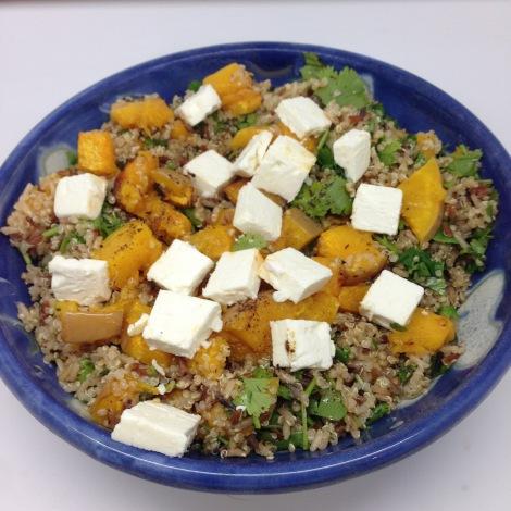 wild rice and quinoa