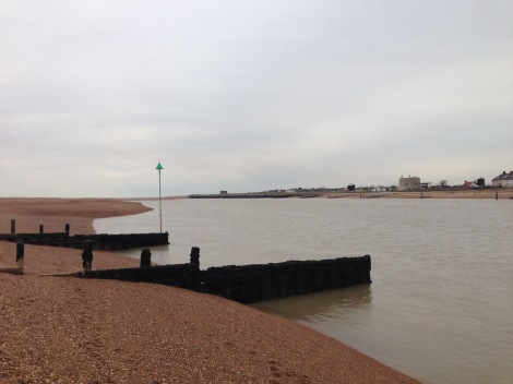 Mouth of the river Deben