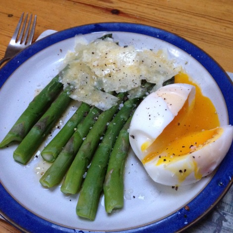 parmesan and asparagus