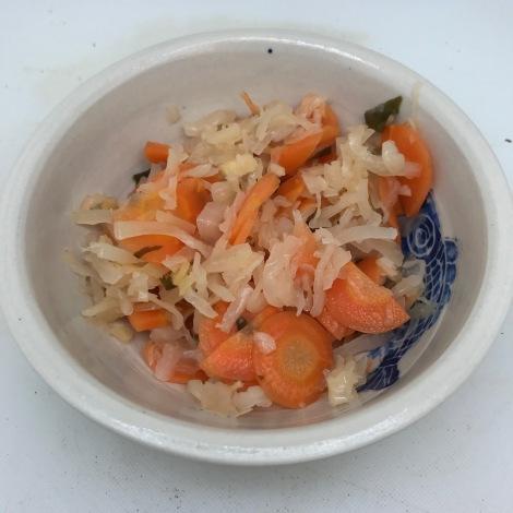 finished kimchi