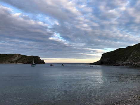 Lulworth Cove at night