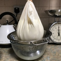 hanging curd cheese